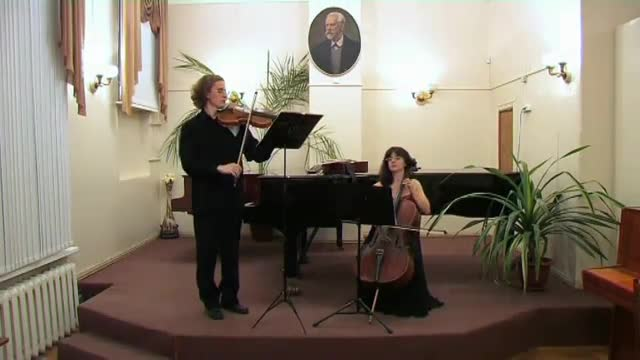 "demo of string duet ""Art music"""